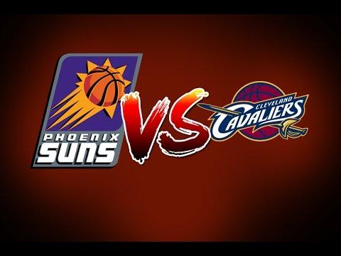 Phoenix Suns Vs Cleveland Cavaliers Full Game Jan  K