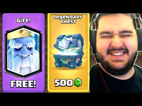 MI-A PICAT LEGENDARA NOUA SI LEGENDARY CHEST PE SH0P - CLASH ROYALE !