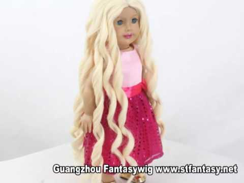 2016 HOT SALE american girl doll wig collection