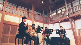 2017 / 11 / 27 生命の奇跡 / 檜ホール Schelmisch Saxophone Quartet T...