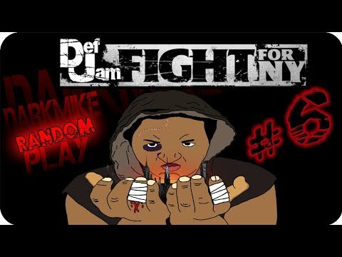 DarkMike Play Def Jam Fight For NY P.6 | MY N!GGA XZIBIT