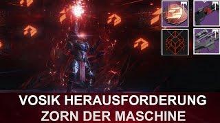 Destiny: Zorn der Maschinen Raid / Vosik Herausforderung (Deutsch/German)