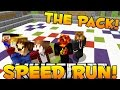 Minecraft Speed Run w/ The Pack