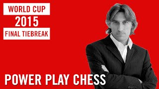 World Cup 2015 Baku Final Tiebreak Karjakin vs Svidler