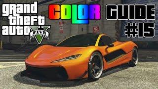 GTA V - Ultimate Color Guide #15   Best Colors Combos for Progen T20