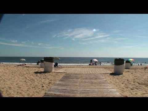 Virginia Beach Virtual Bicycle Tour - Boardwalk from 25th to 40th Street - VaBeach.com