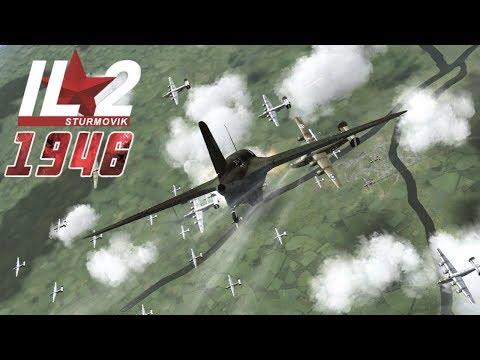 Full IL-2 1946 mission: Me-163 Komet