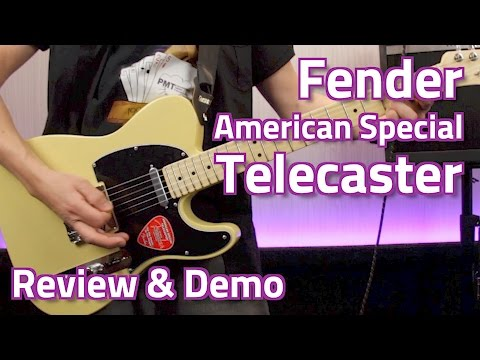 Fender American Special Telecaster - Review & Demo
