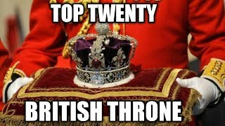 Top 20 in Line of Succession to the British Throne