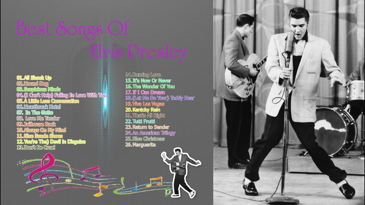 Top 30 elvis presley greatest hits full album best songs of elvis