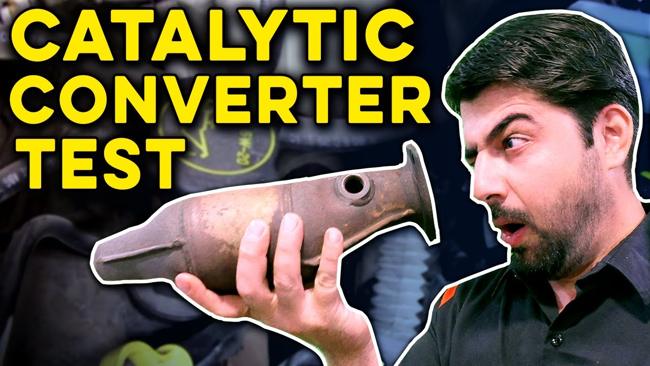 How To Check A Catalytic Converter For Blockage Or Efficiency Below Threshold Issues