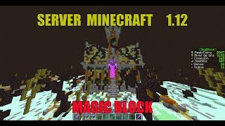 segunda review de server Magic block