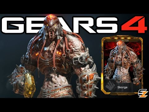 "Gears of War 4 - ""Locust Skorge"" Character Multiplayer Gameplay!"