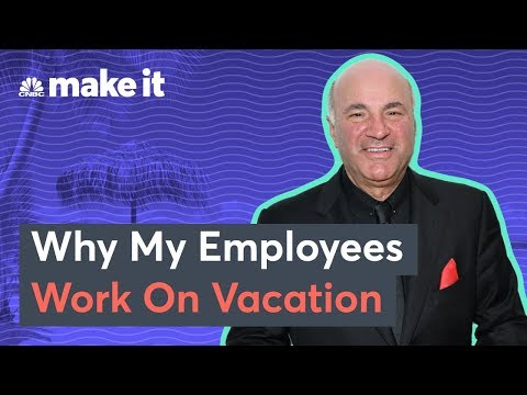 Why Kevin O'Leary Expects His Employees To Work On Vacation
