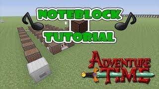Minecraft Xbox 360 - Adventure Time Note Block Tutorial