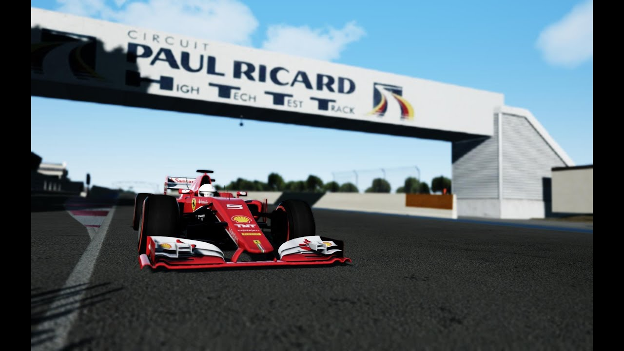 ferrari sf15 t f1 2015 paul ricard le castellet neko racing team youtube. Black Bedroom Furniture Sets. Home Design Ideas