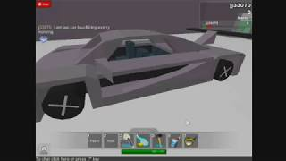 ROBLOX Build and Race : Keonigsegg CCX
