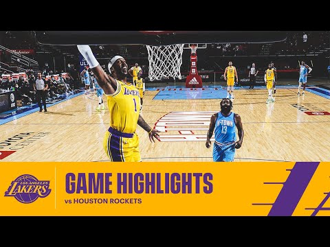 HIGHLIGHTS | Los Angeles Lakers at Houston Rockets