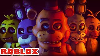 FNAF: I PLAYED FOR THE FIRST TIME-FIVE NIGHTS AT FREDDY'S ROBLOX