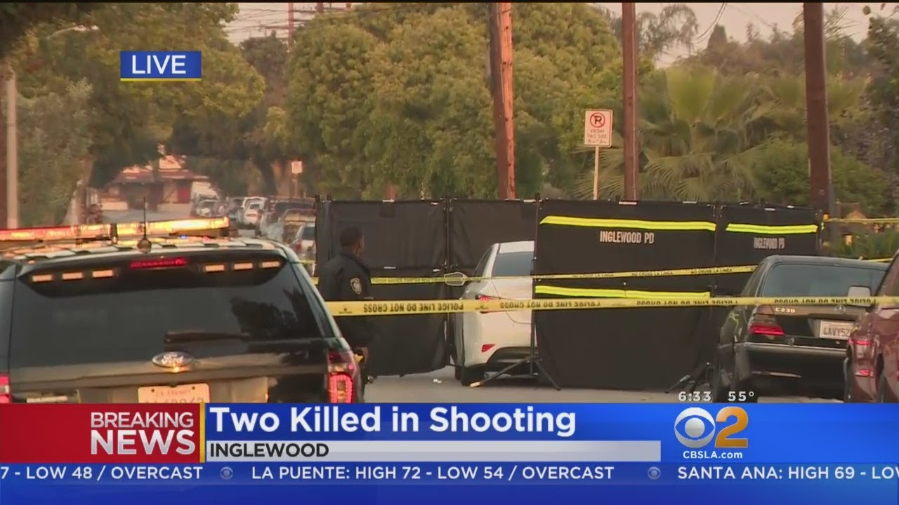 2 Fatally Shot, Killed In Inglewood