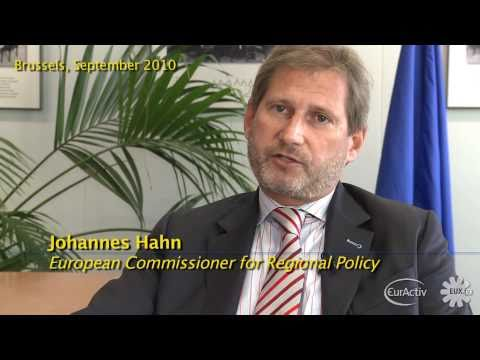 EU Regional Policy Commissioner Hahn interview with EUX.TV - highlights