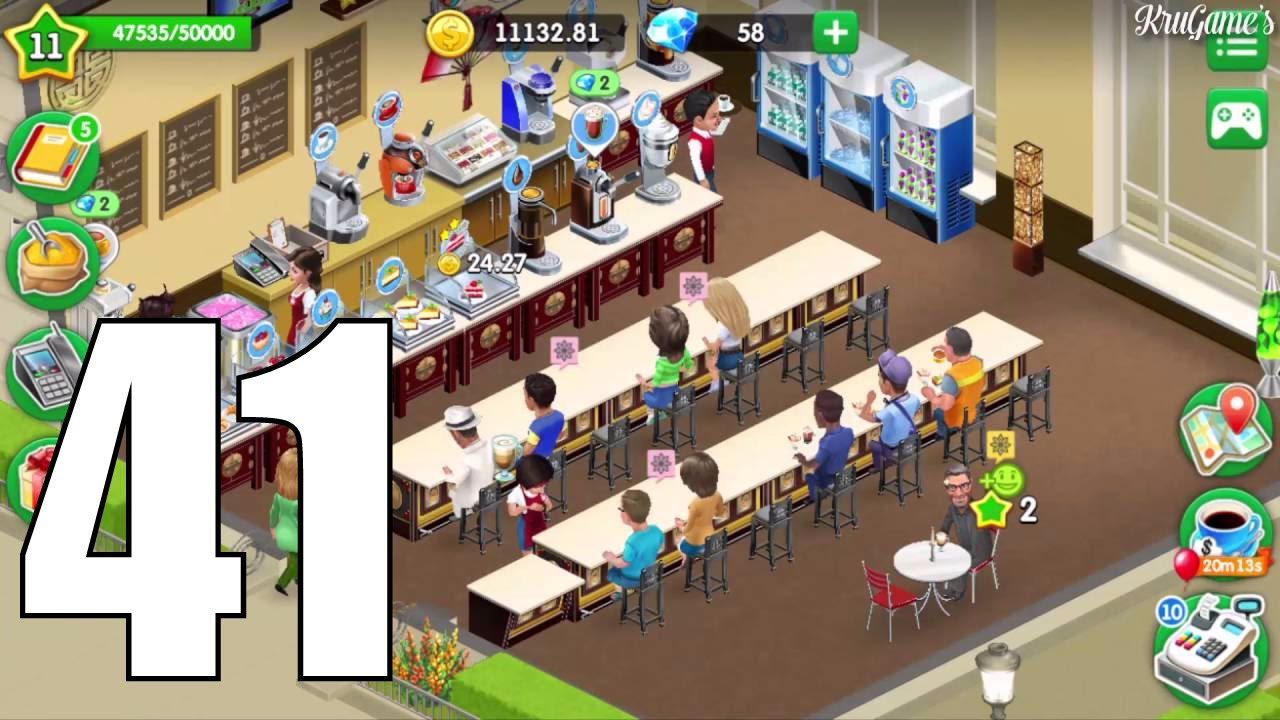 my cafe recipes stories android gameplay 41 level 11 youtube. Black Bedroom Furniture Sets. Home Design Ideas