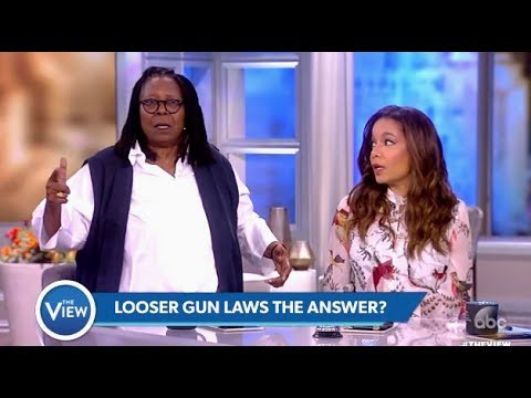 Congressman Shot..Are Looser Gun Control Laws The Answer?? - The View