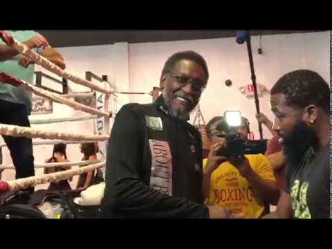 Who's scared of his wife? Adrien Broner media day - EsNews