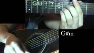 Би 2 и Чичерина - До утра (Уроки игры на гитаре Guitarist.kz)
