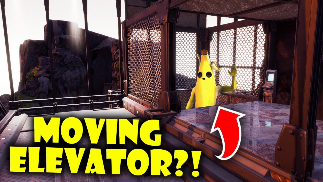 NEW Moving Elevator in Fortnite Creative?!