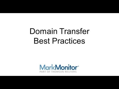 Domain Transfer Best Practices