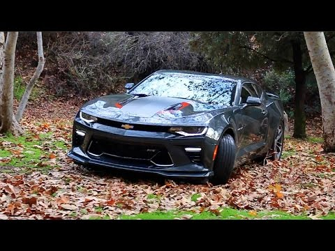 The 50TH Anniversary Camaro SS! ( Start-up, Brutal Revs, Burnouts )