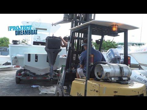 Florida Sportsman Project Dreamboat - Seacraft Crunch Time, Classic 25 Sea Vee