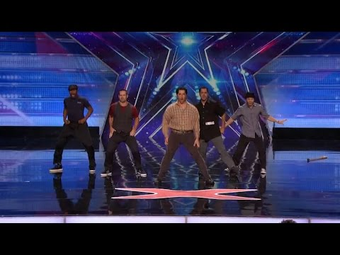 America's Got Talent 2015 S10E07 DADitude Middle Aged Dance Group