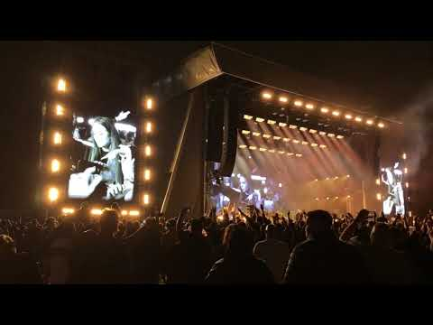 Live Forever - Liam Gallagher live at Old Trafford cricket ground Manchester 18 august 2018