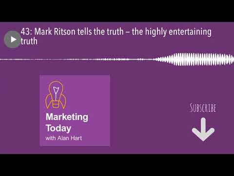 43: Mark Ritson tells the truth — the highly entertaining truth
