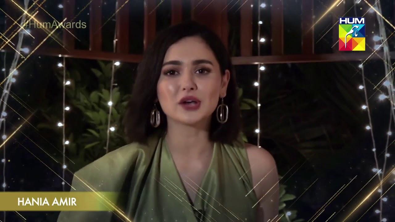 Kashmir 6th HUM Awards 2018 HANIA AMIR
