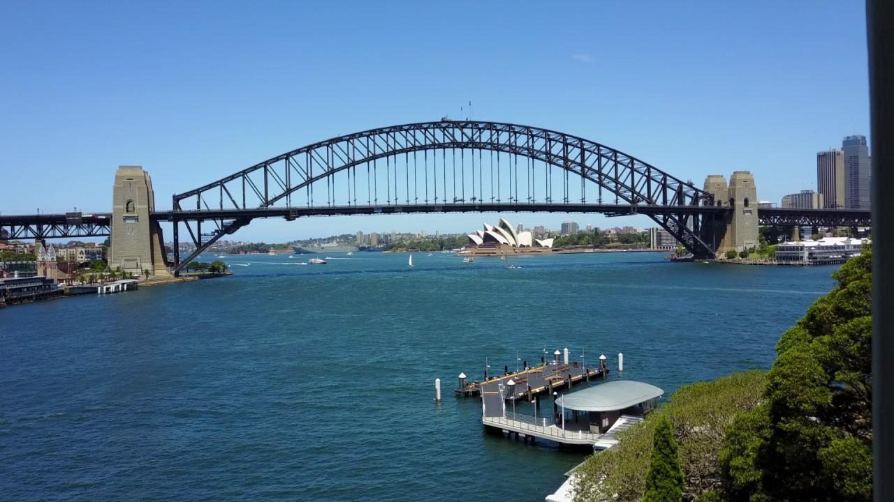 Sydney opera house and harbour bridge - Sydney Opera House And Harbour Bridge With Mavic Pro