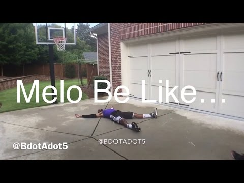 Carmelo Anthony Be Like…