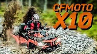 """Обзор """"литрового"""" CFMOTO X10 EPS! Video"""