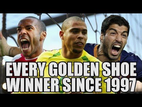 EVERY Golden Shoe Winner Since 1997
