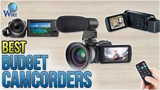 6 Best Budget Camcorders 2018