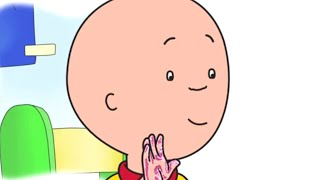 Caillou English Full Episodes | Caillou's Glitter Handprint | Cartoon Movie | Cartoons for Kids