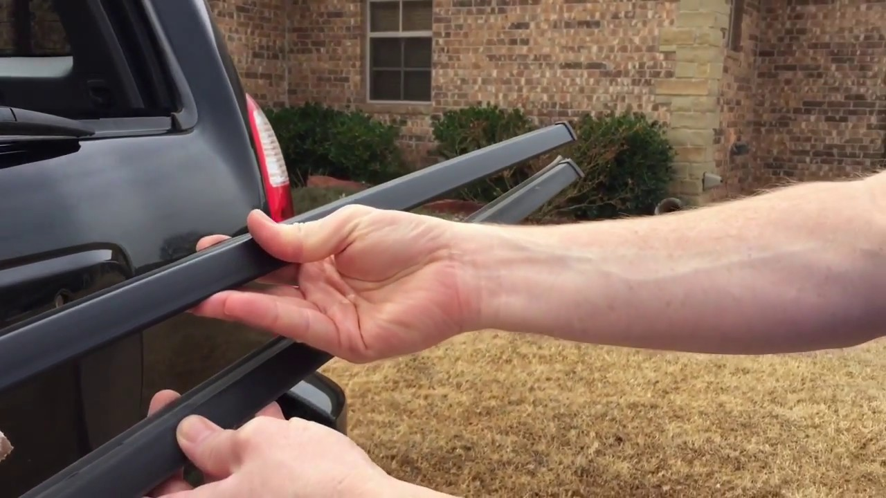 Toyota Tundra Rear Window Replacement >> How To Replace The Rear Window Weatherstripping On A Toyota 4runner
