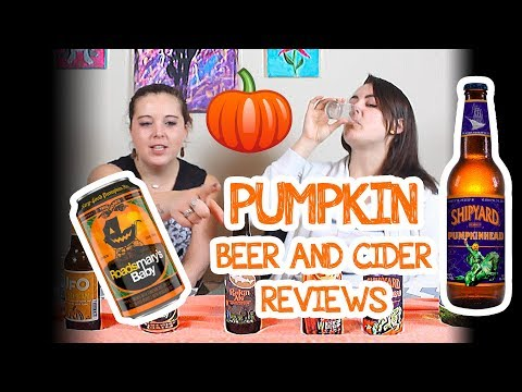 Ashley & Jenn Review Pumpkin Beers And Ciders - 2018