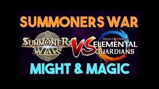 Summoners War VS Might and Magic Elemental Guardians (SW versus MMEG)