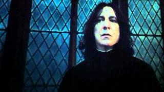 La morte di Severus Piton - Harry Potter i doni della morte 2