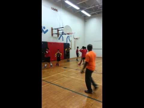 Basketball - MacMillan Public School vs. Pleasant View Junior High School part 1