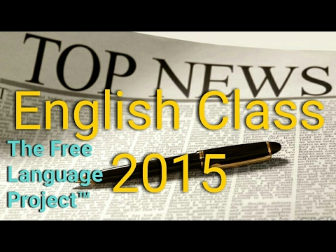 Today's News Headlines in English (2015)
