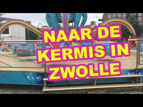 Kakhiel Vlog #13 - Naar de kermis in Zwolle